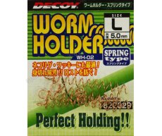 Стопор Decoy WH-02 Worm Holder Spring Type M