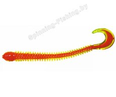 "Мягкие приманки B Fish & Tackle Ringworm 4"" - Chartreuse Orange Core"