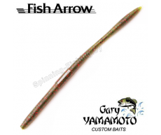 "Мягкие приманки Fish Arrow & Gary Yamamoto Fall Shaker 5"" #208 (WM/Black Red)"