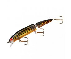"Воблер Bomber Jointed Long ""A"" B15J GPTBRO (Gold Prism Black Back & Bars Orange Belly)"